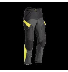 Pantalón Textil Ixon Crosstour 2 Pant Negro Gris Brillo Amarillo  0660090604 