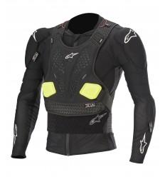 Peto Alpinestars Bionic Pro V2 Protection Jacket Negro Amarillo Fluo |6506620-15