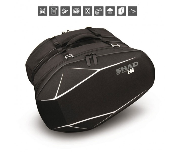 Alforjas Moto Shad  X0SE48 