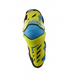 Rodilleras LEATT Dual Axis Lima/Azul |LB5017010191| Pareja