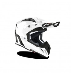 Casco Airoh Aviator Ace Blanco Brillo |PAI33A13ACE804C|