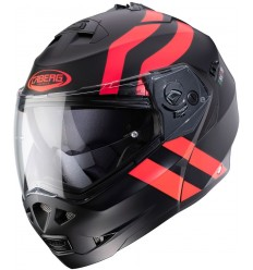 Cascos Caberg Duke Ii Superlegend Mate Negro Rojo |3490071403|