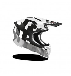 Casco Airoh Twist 2.0 Frame Gris Brillo |TW2F16|
