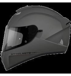 Casco MT Blade 2 SV Solid A2 Titanium Brillo