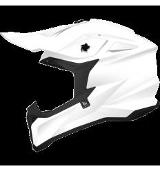 Casco MT Falcon Solid A0 Blanco Perla Brillo