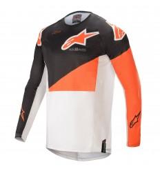Camiseta Alpinestars Techstar Factory Antracita Naranja |3761021-1448|