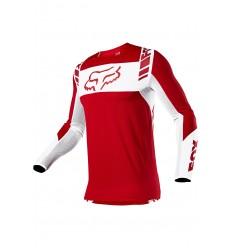 Camiseta Fox Flexair Mach One Rojo Flama |25748-122|