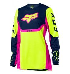 Camiseta Mujer Fox 180 Voke Amarillo Fluor |25855-130|