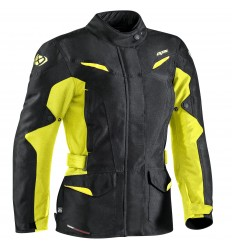 Chaqueta Ixon Summit 2 Lady Negro/Amarillo Brillo