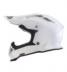 Casco Motocross KYT Strike Eagle Blanco