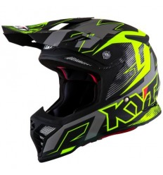 Casco Integral Kyt Skyhawk Digger Matt Black/Yellow |10102106|