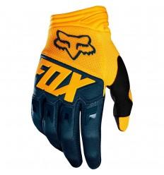Guantes Fox Dirtpaw Glove Azul Marino Amarillo |22751-046|
