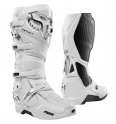 Botas Motocross Fox Instinct Boot Blanco Plata  22756-548 