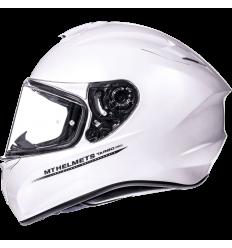 Casco MT Targo Solid A0 Blanco Perla Brillo