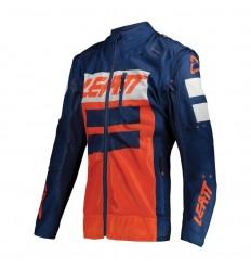 Chaqueta Leatt 4.5 X-Flow Naranja Azul |LB5021000260|