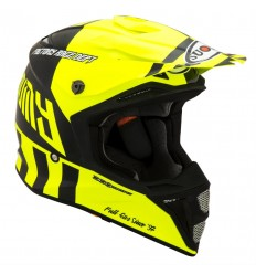 Casco Suomy Integral Mx Speed Full Gas Amarillo Fluor