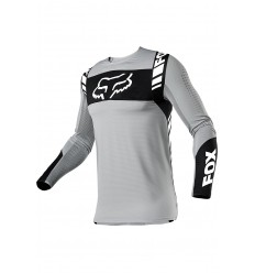 Camiseta Fox Flexair Mach One Steel Gris |25748-172|