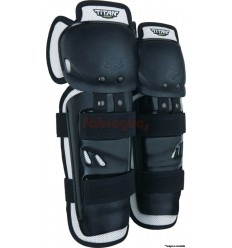 Rodillera Fox Titan Sport Knee/Shin Grd, Ce Negro  06194-001-OS 