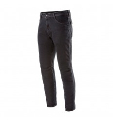 Pantalón Tejano Alu Denim Pants Negro Overdye |3328620-1201|