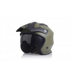 Casco Acerbis Aria Verde Militar  0022569.582 