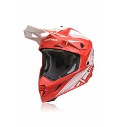 Casco Acerbis Capacete X-Tracl VTR Rojo Blanco  0023901.343 