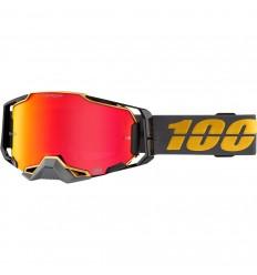Máscara 100% Armega Falcon 5 Negro Naranja  26012691 