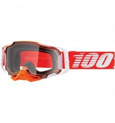 Máscara 100% Armega Regal Rojo Transparente  26012875 