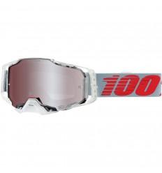 Máscara 100% Armega X-Ray Hiper Silver Rojo  26012878 