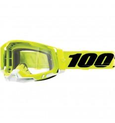 Máscara 100% Racecraft 2 Amarillo Transparente  26012895 