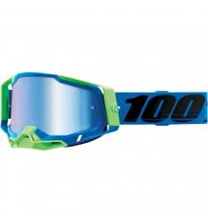 Máscara 100% Racecraft 2 Fremont Azul Mirror  26012903 