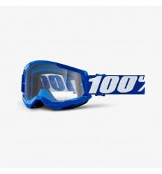 Máscara 100% Strata 2 Azul Lentes Clear