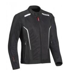 Chaqueta Textil Ixon Cool Air Negro Blanco  0750090704 