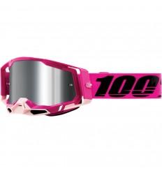 Máscara 100% Racecraft 2 Maho Sv Flash Rosa  26013040 