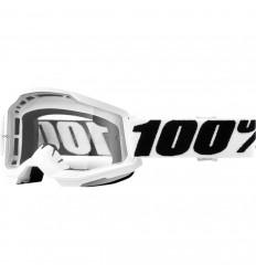 Máscara 100% Strata 2 Everest Blanco Transparente  26012935 
