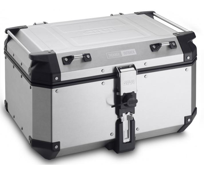 Maleta Givi Trekker Outback 58 Litros Color Aluminio |OBKN58A|