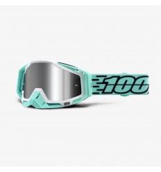 Máscara 100% Racecraft Fasto Silver Mirror  26012720 
